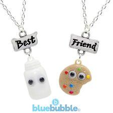 Bluebubble BFF collar conjunto ojos Kitsch Kawaii Retro Lindo Juego Funky Fun Food