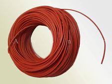 H05VK05RT PVC - Leitung / Litze für Power LED - 0,5mm² - flexibel - rot - 3m/10m