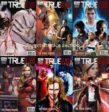 set (6) TRUE BLOOD vIII FRENCH QUARTER 1 2 3 4 5 6 1st print COMIC HBO ALAN BALL