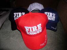 NEW ADJUSTABLE FIRE DEPARTMENT EMT EMS HAZMAT MULTI COLORS FIRE RESCUE HAT CAP
