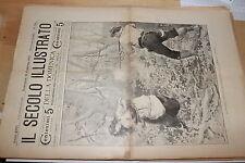 [BTR]IL SECOLO ILLUSTRATO DELLA DOMENICA 1905 788 TRAGEDIA LIVENZA