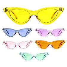 adb9e24210 Brand  Balmain.  4.99 shipping. Womens Gothic Cat Eye Pop Color Funk Vintage  Sunglasses