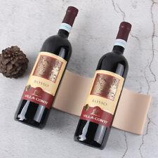 1pc Red Wine Rack 4Bottle Holder Mount Bar Display Shelf Drink Bottle Hold HV