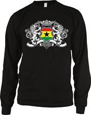 Republic of Ghana Heraldic Lions Flag Ghanaian Pride Long Sleeve Thermal