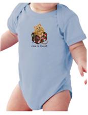 Infant Creeper Bodysuit One Piece T-shirt Love To Travel Cat Kitten k-257