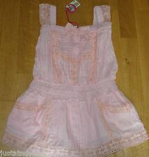 Nolita Pocket girl Coyote summer pink lace dress  3-4 y  BNWT designer