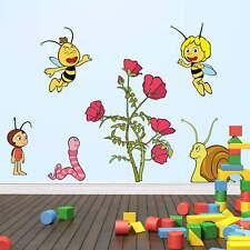 Wandtattoo Wandtattoo Die Biene Maja Blütenparty bunt