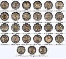 2 Euro monete commemorative 2014 - UNC, Coincard, FDC, FS