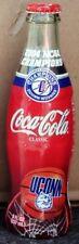 2004 UConn Womens Basketball Coca-Cola Coke Bottle