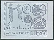 SWEDEN (H335) Scott 1395a, 1.65kr John Bauer Booklet,