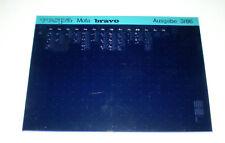 Microfich Ersatzteilkatalog Vespa Mofa bravo Stand 1986