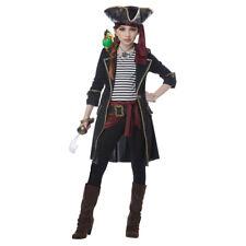 Girls High Seas Captain Halloween Costume