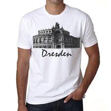 Dresden Tshirt Col Rond Homme T-shirt, Blanc