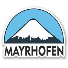 2 x Mayrhofen Ski Snowboard Vinyl Sticker Laptop Travel Luggage Car #5290