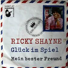 "7"" 1970 KULT ! RICKY SHAYNE : Glück im Spiel // VG+? \"