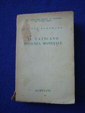 JOSEPH BERNHART-IL VATICANO, POTENZA MONDIALE-BOMPIANI 1936