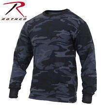 Rothco 3637 / 3173 / 3136 / 3592 Long Sleeve Colored Camo T-Shirt