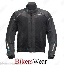 Spada Air Pro Black Textile Summer Mesh Motorcycle + Waterproof Over-Jacket
