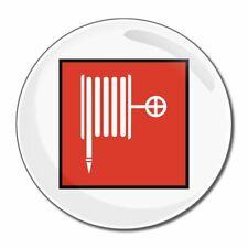 MANICHETTA DA incendio-tondo Specchio in vetro compatta 55mm/77mm badgebeast