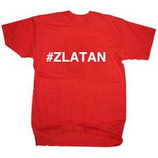 #ZLATAN IBRAHIMOVIC MAN UNITED UTD MUFC FOOTBALL T SHIRT MENS WOMENS KIDS