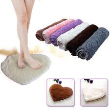 Super Soft Absorbent Memory Foam Bath Bathroom Floor Shower Heart Shape Mat Rug