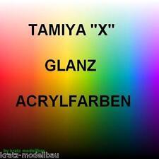 Tamiya Acryl Farbe Glanz X-1,X-2,X-3,X-4,X-5,X-6,X-7,X-8,X-9,X10,X11 je 23ml