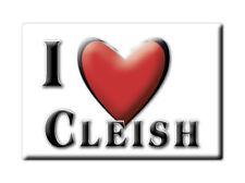 SOUVENIR UK - SCOTLAND MAGNET UNITED KINGDOM I LOVE CLEISH (PERTH AND KINROSS)