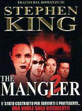 Dvd **THE MANGLER** di Stephen King nuovo 2001
