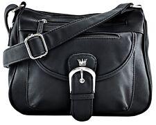Purse King Pistol Conceal Carry Gun Purse & Organizer Handbag CCW Crossbody Bag