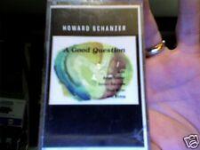 Howard Schanzer-  A Good Question....new/sealed cassette tape