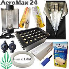 Hydroponics Aeroponics 24 Pot HPS MH Light Cooltube 600W Ballast And 1m Growroom