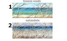 Original Art Paintings landscape Australia Beach ocean waves surf canvas poster