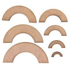 Rainbow Craft Shape, Various Sizes, 2mm MDF Wood.
