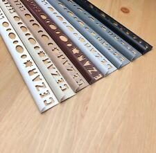 Round Edge PVC Tile Trims 8mm - 10mm -  lengthVARIOUS COLOURS - 2.5 meter
