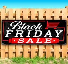 "BLACK FRIDAY SALE Advertising Vinyl Banner Flag Sign USA 15"" 18"" 20"" 30"" 48"" 52"""