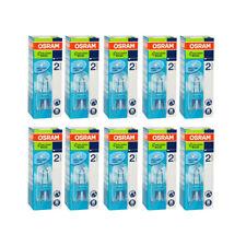 10 x Osram G9 Eco Hologen Stiftsockel 20W = 25W 33W = 40W Halogenlampe Halopin