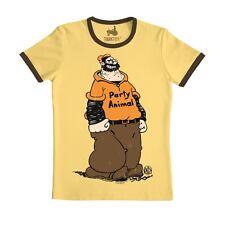 Comics - Popeye der Seemann - Brutus - Partytier - T-Shirt - gelb - TRAKTOR®