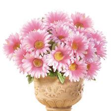 Floral Gerbera Daisy Artificial Maintenance-Free Flower Bush - Set of 3