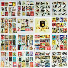 12 Stück Kühlschrankmagnete im Set Magnete Kühlschrank 6x4 cm Motive zur Auswahl
