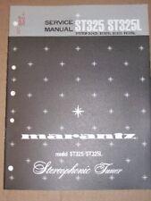 Marantz Service/Repair Manual~ST325/ST325L Tuner