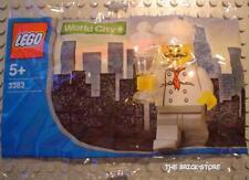 LEGO CITY POLICE - CHEF CHUPA CHUPS PROMOTIONAL POLYBAG FIGURE - RARE - SEALED