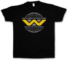 Weyland Yutani II T-Shirt corp corporatin Alien Ripley Movie aliens logotipo símbolo