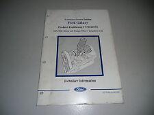 Technische Information Einführung Ford Galaxy 1,9 l TDI Diesel Motor PD, 1999