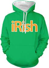 iRish Ireland Phone Pod Pad Country Heritage From IRE Two Tone Hoodie Sweatshirt