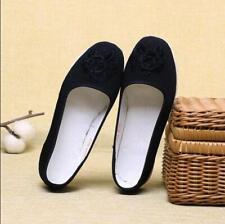 New Black Women's Chinese Martial Arts Shoes Tai Chi Wing Chun Kung Fu Footwear