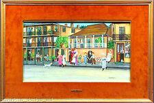 Ann Mexic KIDS KITES KIBITZERS Original Art Painting Framed Submit Best Offer
