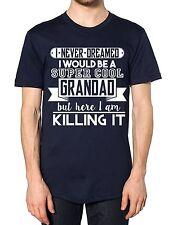 Super Cool Grandad T Shirt Top Fathers Day Funny Best Gift Present Grandchildren