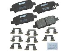 Rear Brake Pad Set R419ZW for FX35 FX37 FX45 G35 M35 M37 M45 M56 2003 2004 2005