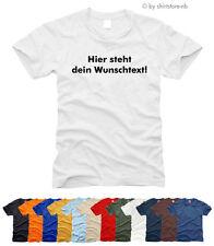 T-Shirt selbst gestalten, Druck nach Wunsch - T-Shirt- Gr. S bis XXL
