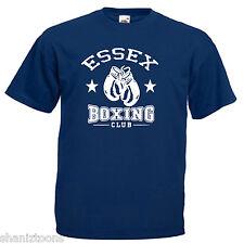 Essex Boxing Club Adultos Para Hombre T Shirt 12 Colores Talle S - 3xl